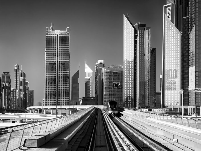 Dubaï Metro by Systra